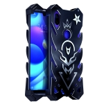 Vulcan Pattern Shockproof Protective Case for Xiaomi Mi Play (Black)