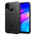 Shockproof Protector Cover Full Coverage Silicone Case for Xiaomi Redmi 7 (Black)