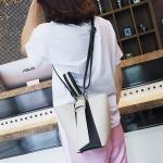PU Shoulder Bag Ladies Handbag Messenger Bag (Black)