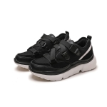 Trend Color Matching Casual Shoes for Women (Color:Black Size:35)