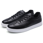 Trend Wearable Comfortable Shoes for Men (Color:Black Size:39)