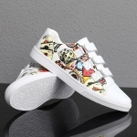 Outdoor Low-top Wear Resistant Casual Sport Trend Shoes for Men (Color:White Red Size:43)
