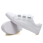 Outdoor Low-top Wear Resistant Casual Sport Trend Shoes for Men (Color:White Size:41)