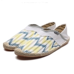 Lightweight Linen Canvas Outdoor Casual Shoes for Men (Color:Beige Size:43)