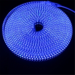 YWXLight 5M 72W 600LEDs 5730 SMD LED Strip IP67 Waterproof Outdoor Garden Holiday Christmas Deccoration Lamp, EU Plug, AC 220V (Blue Light)