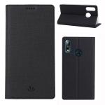ViLi DMX Multifunctional Horizontal Flip Leather Case for Asus Zenfone Max Pro(M2)(ZB631KL), with Card Slot & Holder(Black)