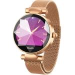 B80 1.04 inch IPS Color Screen Smart Bracelet IP67 Waterproof, Metal Watchband,Support Call Reminder /Heart Rate Monitoring /Blood Pressure Monitoring /Sedentary Reminder /Sleep Monitoring (Gold)