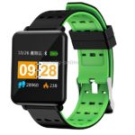 J10 1.44 inch IPS Color Screen Smart Bracelet IP67 Waterproof, Support Call Reminder/ Heart Rate Monitoring /Blood Pressure Monitoring/ Blood Oxygen Monitoring(Black+green)