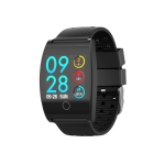QS05 1.3 inch IPS Color Screen Smart Bracelet IP67 Waterproof, Support Call Reminder/ Heart Rate Monitoring /Blood Pressure Monitoring/ Sleep Monitoring (Black)