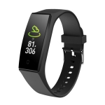 V18 0.96 inch IPS Color Screen Smart Bracelet IP67 Waterproof, Support Call Reminder/ Heart Rate Monitoring /Blood Pressure Monitoring/ Sleep Monitoring/Remote Photography (Black)