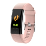 F07 Plus 0.96 inch TFT Color Screen Smart Bracelet IP68 Waterproof, Support Call Reminder/ Heart Rate Monitoring /Blood Pressure Monitoring/ Sleep Monitoring/Alarm Reminder (Pink)