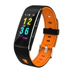 F10 0.96 inch TFT Color Screen Smart Bracelet IP67 Waterproof, Support Call Reminder/ Heart Rate Monitoring /Blood Pressure Monitoring/ Sleep Monitoring/Blood Oxygen Monitoring (Orange)