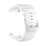 Silicone Replacement Wrist Strap for SUUNTO 9 (White)