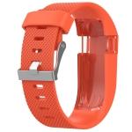 Solid Color Adjustable Wrist Strap for FITBIT Charge / HR (Orange)