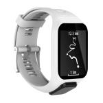 Silicone Sport Wrist Strap for Tomtom Runner 2/3 Series (White)