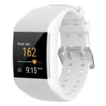 Silicone Sport Wrist Strap for POLAR M600 (White)