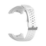 Silicone Sport Wrist Strap for POLAR M400 / M430 (White)