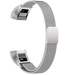 Stainless Steel Magnet Wrist Strap for FITBIT Alta,Size:Small,130-170mm(Silver)