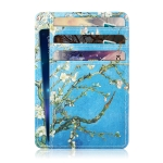 Antimagnetic RFID Multifunction Card Pack Apricot Flower edition