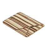 MUXMA Bamboo Pocket Card Mini Mobile Phone Case 3M Plastic Credit Card Set