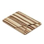 MUXMA Bamboo Pocket Card Mini Mobile Phone Case 3M Plastic Credit Card Set