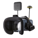 5.8GHz 4.3 Inch 40GH FPV Graphic Transmitting Receiving Eyeglasses VR Goggles, with DVR Function