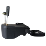 5.8GHz 5 Inch 40GH FPV Graphic Transmitting Receiving Eyeglasses VR Goggles, with DVR Function