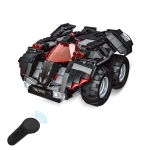 MoFun 2.4G Four-way Remote Control Assembling Blocks DIY Assembled Electric-Bat Blaster(Black)