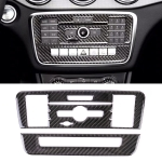 Car Carbon Fiber CD Panel Decorative Sticker for Mercedes-Benz GLA