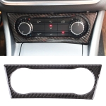 Car Carbon Fiber Air Conditioning Knob Sound Control Panel Decorative Sticker for Mercedes-Benz GLA
