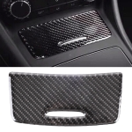 Car Carbon Fiber Ashtray Panel Decorative Sticker for Mercedes-Benz GLA