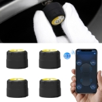 V11B Car Smart Multi-functional Tire Air Pressure Inflator Gauge Vehicle Tester Inflation Monitoring, Support Bluetooth 4.0