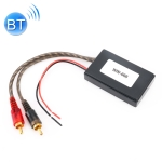 Universal Car Bluetooth Module Adapter Radio Stereo with 2 RCA AUX Cable Adapter