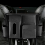 DERANFU Multi-function Car Seat Middle Pocket Storage Bag (Black)
