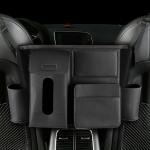 DERANFU Multi-function Car Seat Middle Pocket Storage Bag (Black)