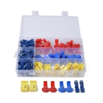 85 PCS Car Press Electric Wire Terminal Quick Splice Crimp Terminal Wire Connect Terminal Assortment Kit