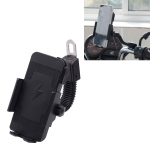 Motorcycle Phone Wireless Charger Holder Qi Fast Charging Bracket Holder