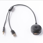 Universal Car Bluetooth Adapter Radio Stereo AUX Cable Adapter AUX USB Interface