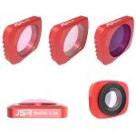 5 in 1 CR Super Wide Angle Lens 12.5X Macro Lens + CPL Lens + Star + ND16 Lens Filter Set for DJI OSMO Pocket