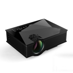 UC46+ 40ANSI 800×400 Home Theater Multimedia HD 1080P LED Projector,  Support USB/SD/HDMI/VGA/IR