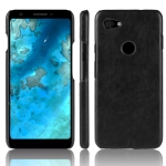 Shockproof Litchi Texture PC + PU Case for Google Pixel 3 lite (Black)