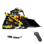MoFun 13014 DIY Engineering Team Track Loader Assembling Blocks, with 2.4G Remote Control