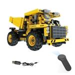 MoFun 13016 DIY Engineering Team Mining Truck Assembling Blocks, with 2.4G Remote Control