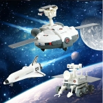 MoFun 2035 3 in 1 Solar Energy DIY Space Exploration Fleet Assembling Blocks