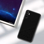 PINWUYO Full Coverage Waterproof Shockproof PC+TPU+PU Case for Huawei P30 Pro (Black)