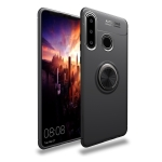 lenuo Shockproof TPU Case for Huawei P30 Lite, with Invisible Holder (Black)