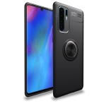 lenuo Shockproof TPU Case for Huawei P30 Pro, with Invisible Holder (Black)