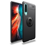 lenuo Shockproof TPU Case for Huawei P30, with Invisible Holder (Black)