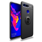 lenuo Shockproof TPU Case for Huawei Honor View 20, with Invisible Holder (Black)