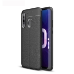Litchi Texture TPU Shockproof Case for Huawei Honor 10i (Black)